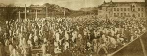 [08] 3.1운동, 덕수궁 대한문 경성일보사 앞, 1919년