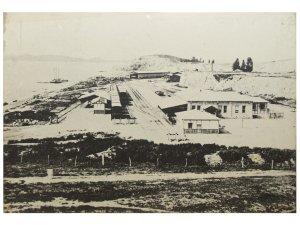 京仁線開通時の仁川駅:1899年