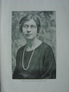 Miss Hannah Fair Sallee, Principal:晏摩女中の年刊(1940年)より