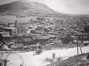 [43] 부산항과 부산역 1950년