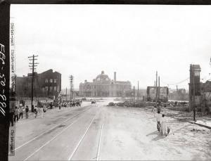 [46] 수복직후의 서울역과 주변 모습, 1950년 9울 28일